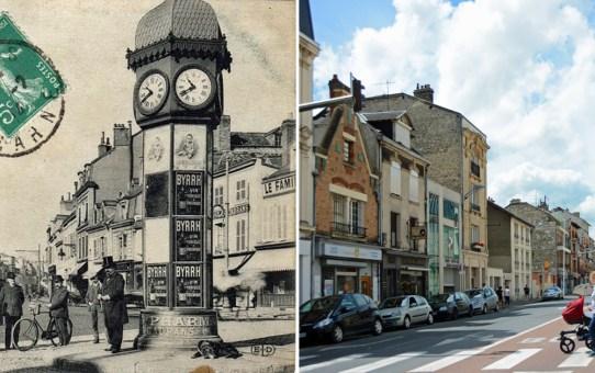 La place des Loges-Coquault avant et après 1914-1918