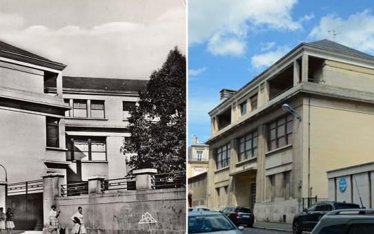 Le Collège Université, côté rue Voltaire