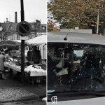 La place Luton, un jour de marché