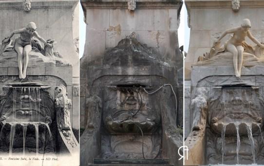 3 époques  - Fontaine Subé : la Vesle retrouvée