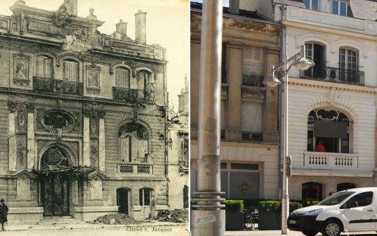 Les salons Degermann, rue Buirette