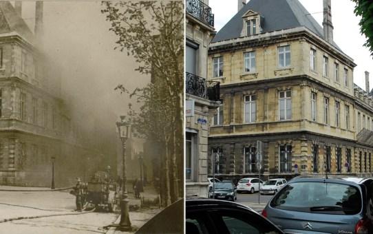 Angle de la rue des Consuls (actuelle rue du général Sarrail) et de la rue de la Grosse Ecritoire