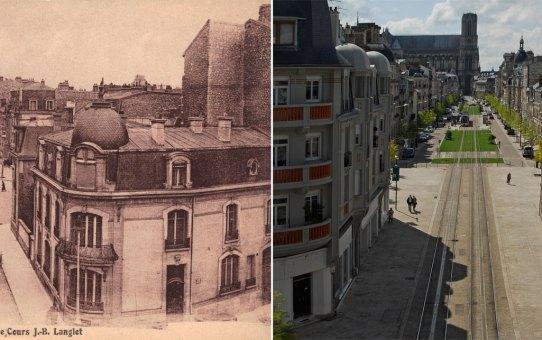 Le Cours Langlet : 4 époques