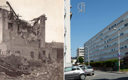 Bombardements rue Abbé-de-L'Epée