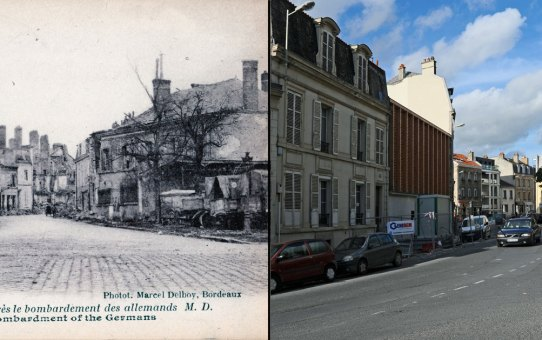 Angle de la rue Camille-Lenoir et de la rue du Cardinal Gousset