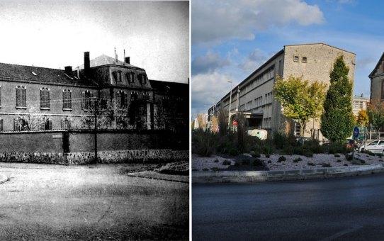 L'ancien Hôpital Militaire de la rue Prieur de la Marne