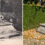 Le tombeau de l'Abbé Miroy et son gisant