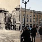 Place Royale, côté nord pendant la Grande Guerre