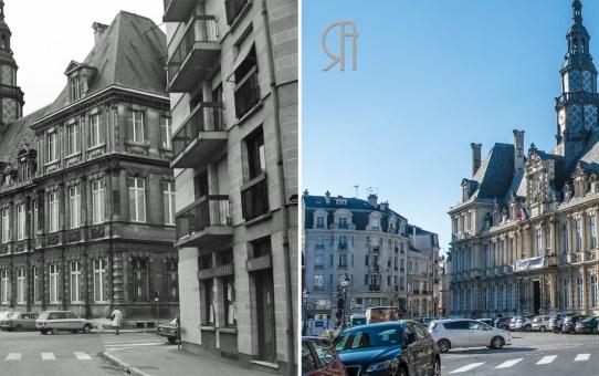 La place de l'Hôtel de Ville en 1977