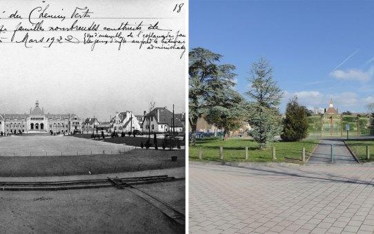 Place du 11 novembre – Cité Jardin du Chemin Vert