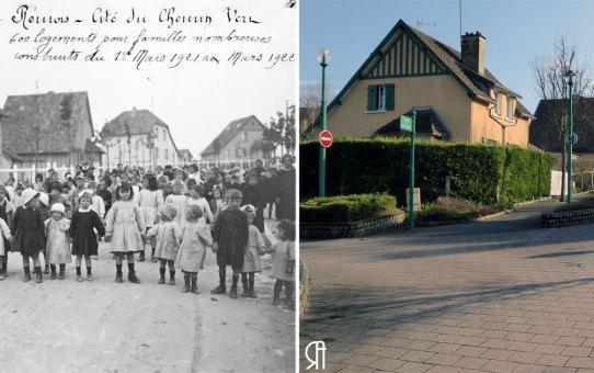 Allée des Pervenches - Cité Jardin du Chemin Vert