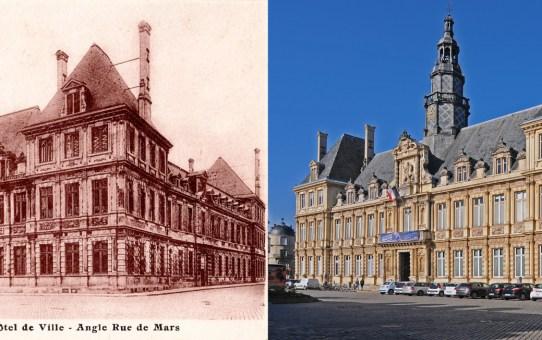 L'Hôtel de Ville pendant la Grande Guerre et après la Reconstruction