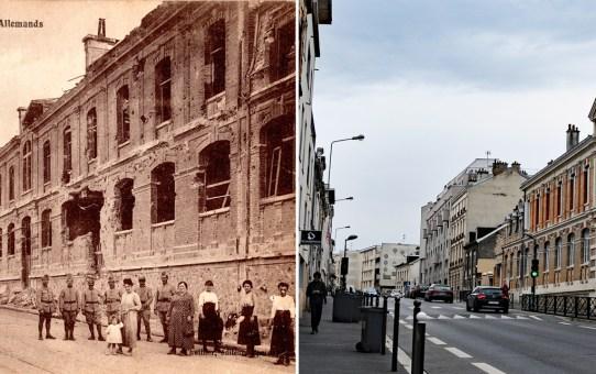 L'École de la rue de Neufchâtel (actuelle rue Emile Zola)