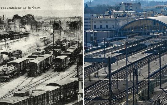 La Gare, 3 époques