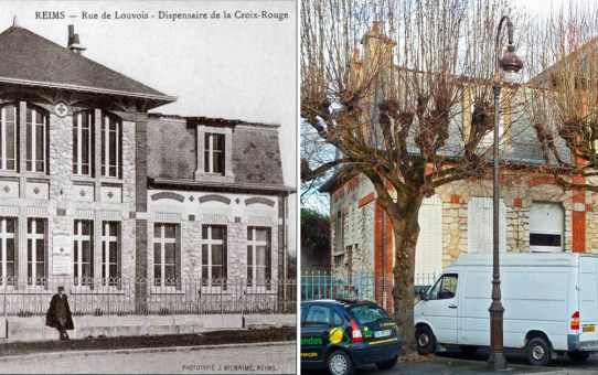 Le dispensaire de la Croix-Rouge, rue de Louvois