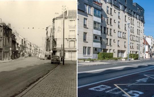 La rue Gambetta en 1970