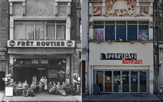Le Coq Hardi devenu l'Appart'Café, avenue de Laon