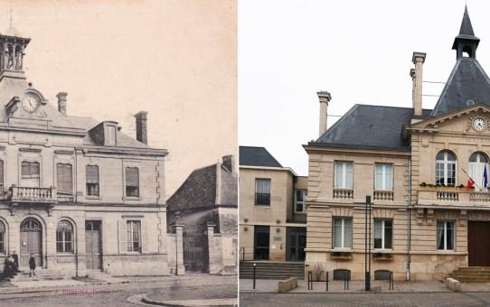 La Mairie de Cormontreuil à 3 époques