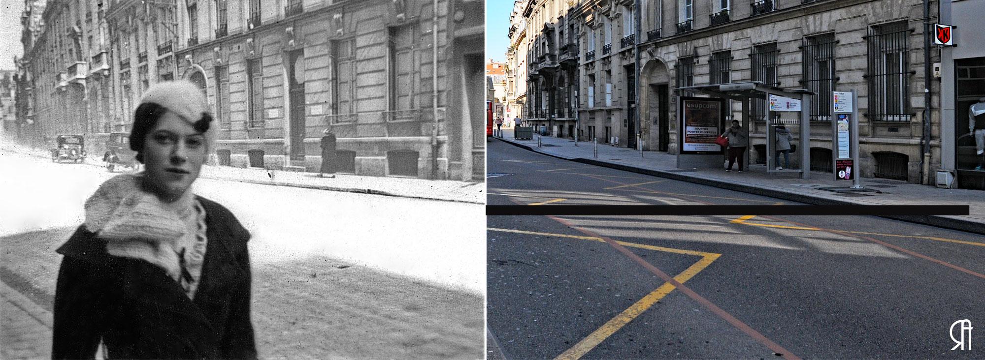 Rue de Talleyrand en 1934