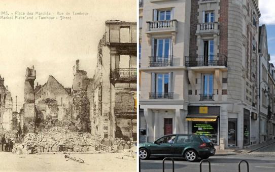 Rue de Tambour pendant la Grande Guerre