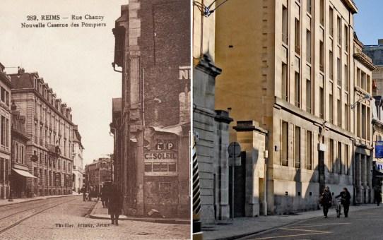L'ancienne caserne des pompiers, rue Chanzy