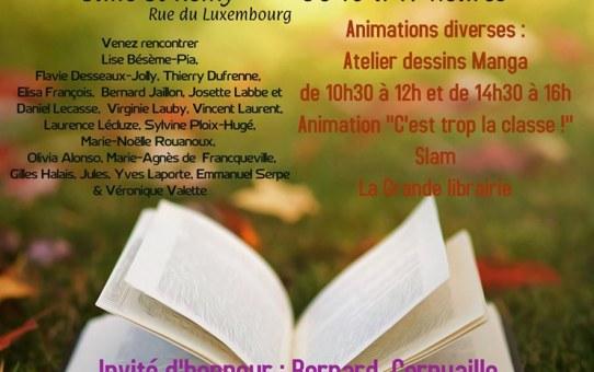Dimanche 13 octobre ReimsAvant sera au salon du livre à Hermonville
