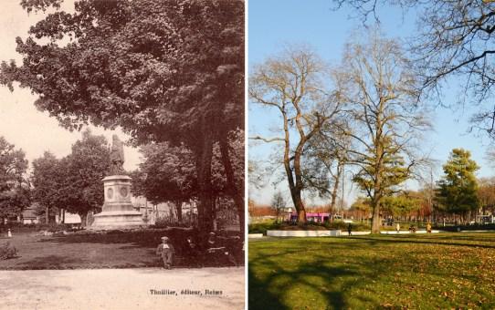 Statue et Jardin Colbert