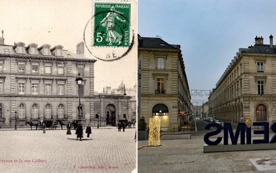 L'esplanade Simone Veil, ancienne place de l'Hôtel de Ville