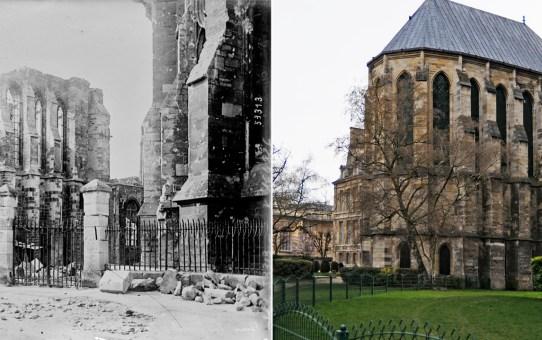 La chapelle haute du Palais du Tau