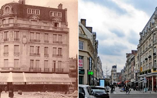 Rue Condorcet en pleine Reconstruction