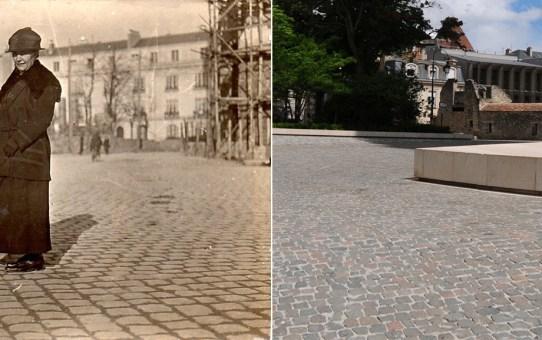 Sur le Parvis entre 1924 et 1932