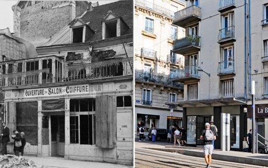 99-101 rue de Vesle pendant la guerre 1914-1918