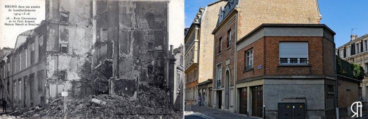 Rue Courmeaux rue du Petit Arsenal