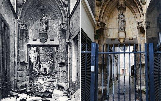 Petit portail de l'Église Saint-Jacques