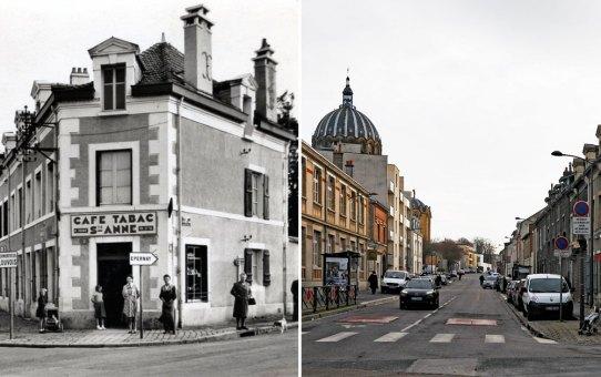 Le café tabac Sainte-Anne, actuel Le Bergerac