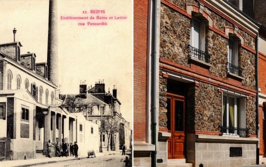 Narcisse Brunette #10 - L'établissement de bains et lavoirs publics de la rue Ponsardin