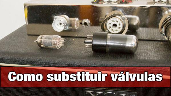 Como substituir válvulas