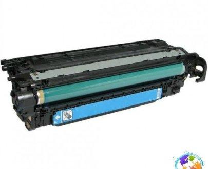 HP CE251A 504A Cyan Umplere HP Color LaserJet CP3525dn