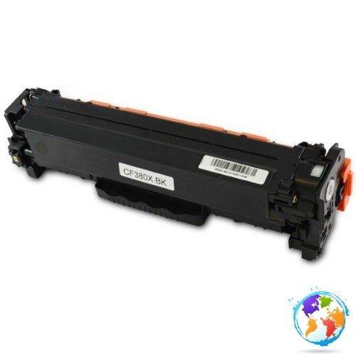 HP CF380X 312X Black Umplere HP Color LaserJet Pro MFP M476DW