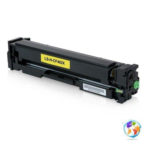 HP CF402X 201X Yellow Umplere HP Color LaserJet Pro MFP M277dw