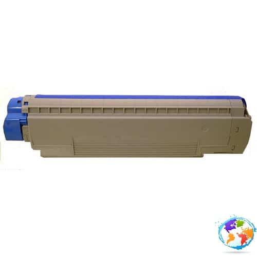 Oki 43487710 Magenta Umplere OKI C8800HN