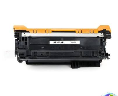 hp CF332A 654A Yellow Umplere HP Color LaserJet Enterprise M651n
