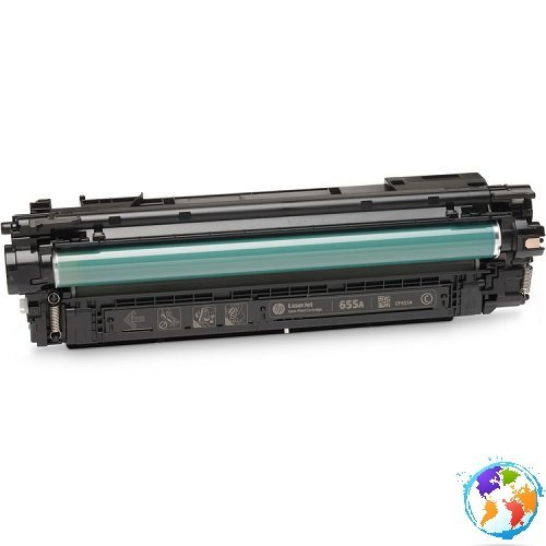 hp CF451A 655A Cyan Umplere HP Color Laserjet ENTERPRISE M652N