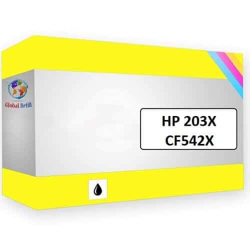 Compatibil HP CF542X 203X Yellow HP LaserJet Pro M254NW