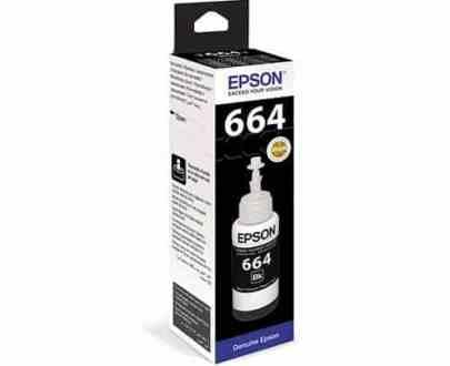 CERNEALA ORIGINALA EPSON T664 BLACK