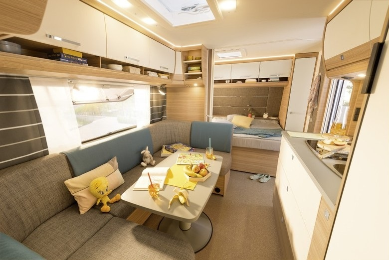 Dethleffs Camper 2018 een moderne caravan met 15 indelingen