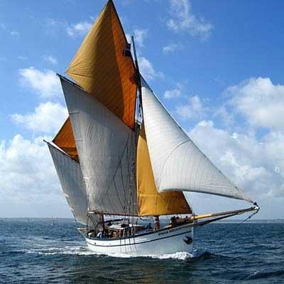 Balade en mer en bateau