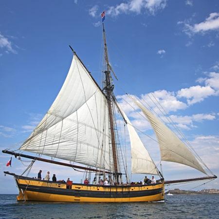 ballade en bateau St Malo
