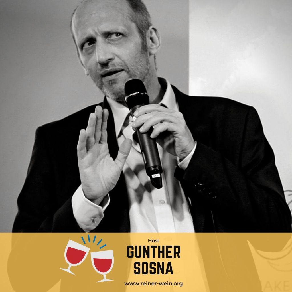Gunther Sosna, Gastgeber, Reiner Wein Politischer Podcast aus Wien