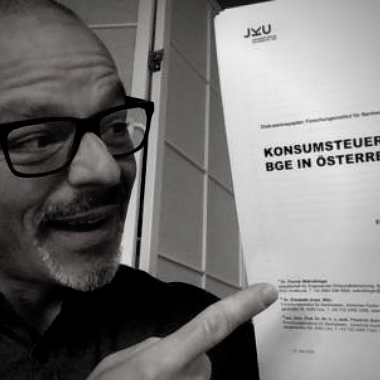 Reiner Wein Politischer Podcast Wien Gast Helmo Pape, Generation Grundeinkommen